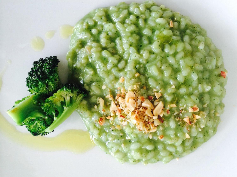 Ricetta Risotto Broccoli.Riso Semintegrale Balilla Con Crema Di Broccoli Gusto Vegetariano