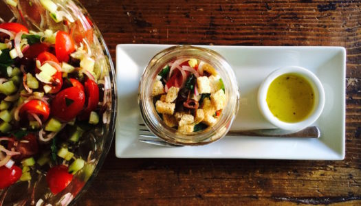 PANZANELLA IN GLASS